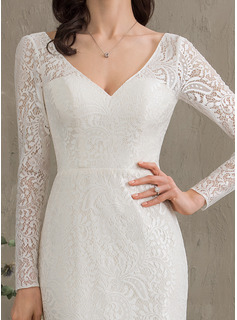 long sleeve crystal wedding dress