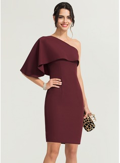 square neck midi prom dress