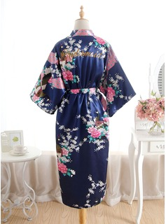 bridesmaid robes floral