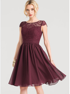 high neckline semi formal dresses