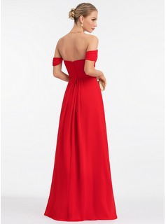 burgundy evening dress tea length
