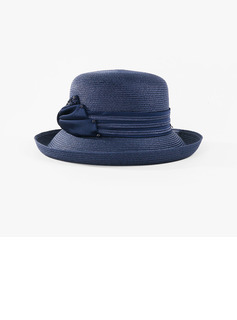 Ladies' Lovely/Charming Polyester With Bowknot Bowler/Cloche Hats