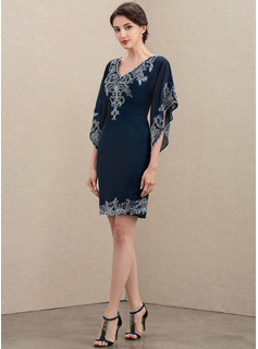 silver lace evening dress
