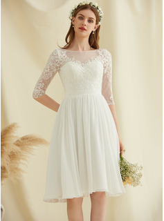long white dress with sleeves