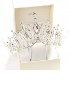 Charming Crystal/Rhinestone/Alloy Tiaras (Sold in single piece)