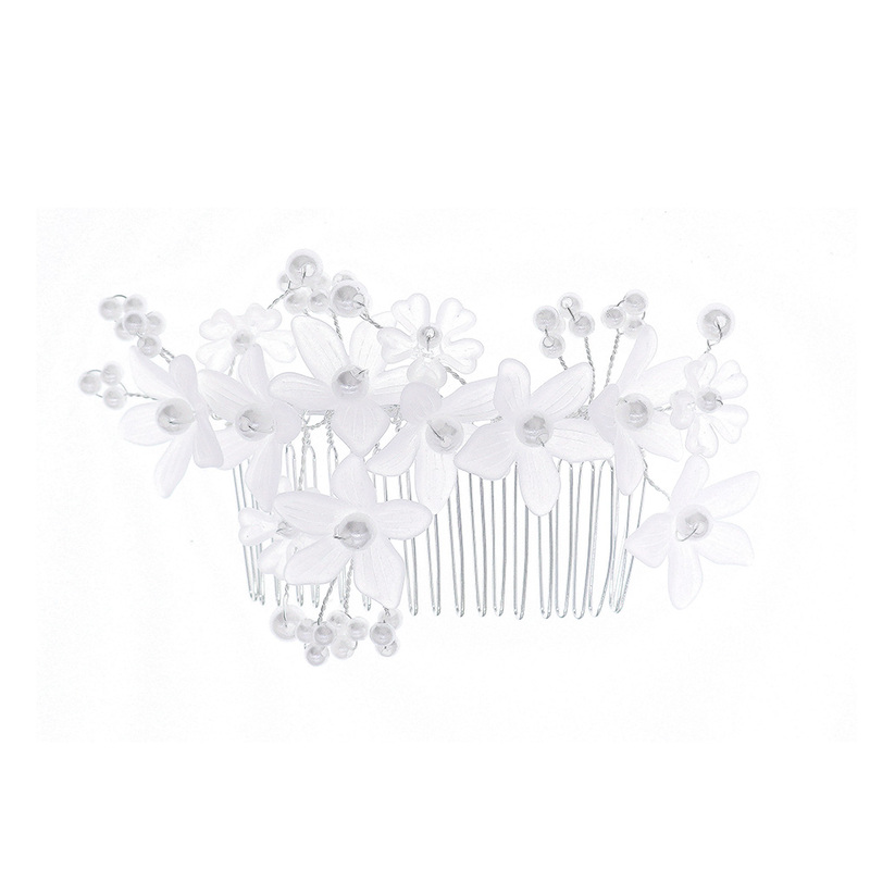 Ladies Beautiful Imitation Pearls Combs & Barrettes With Venetian Pearl (Sold in single piece)