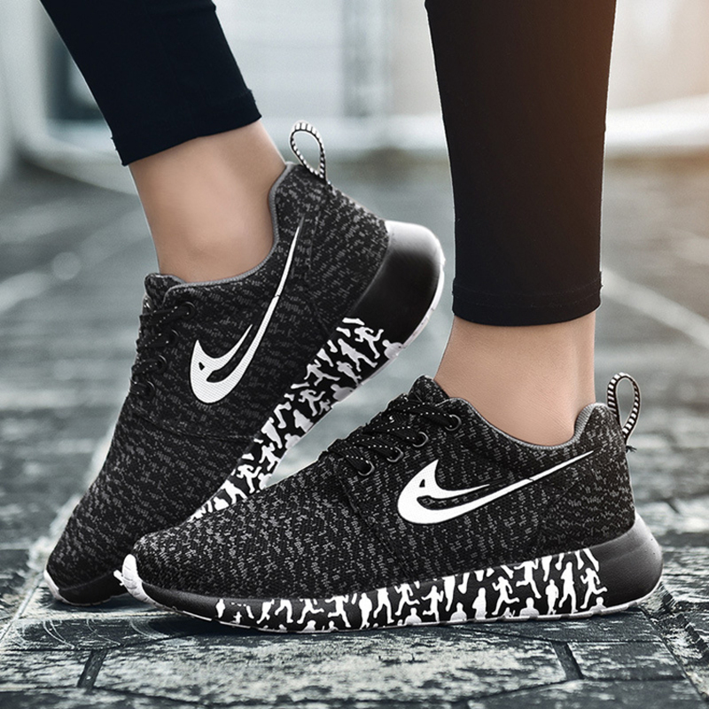 Women's Mesh With Lace-up shoes