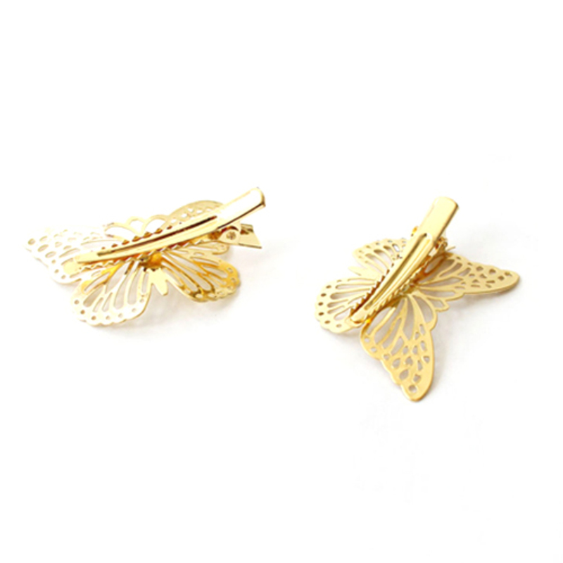Simple Butterfly Alloy Combs & Barrettes(Sold in single piece)
