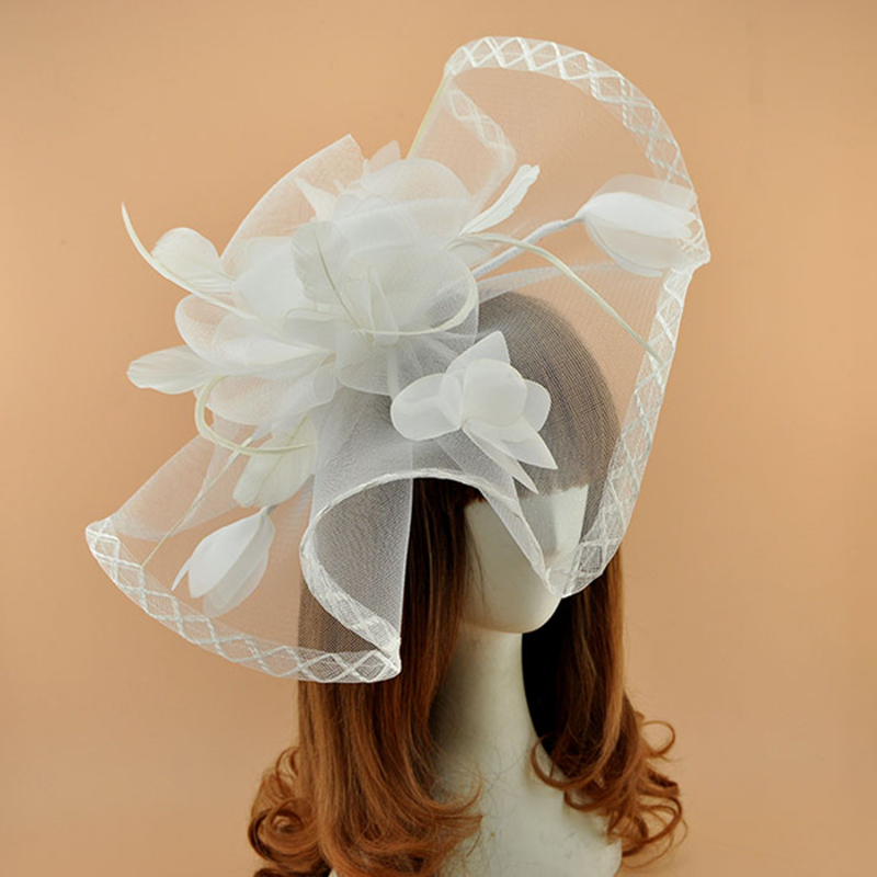 Ladies' Classic Cambric Fascinators/Kentucky Derby Hats