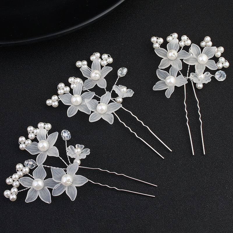 Fashion Imitation Pearls Hairpins (Sold in single piece)
