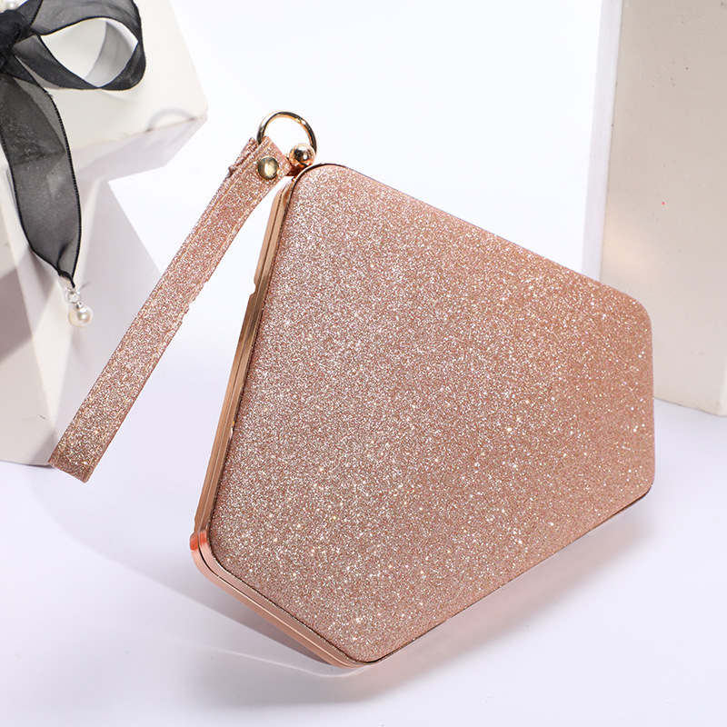 Glitter Fashionable Top Handle Bags