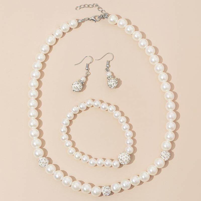Elegant Alloy/Rhinestones/Imitation Pearls Ladies' Jewelry Sets