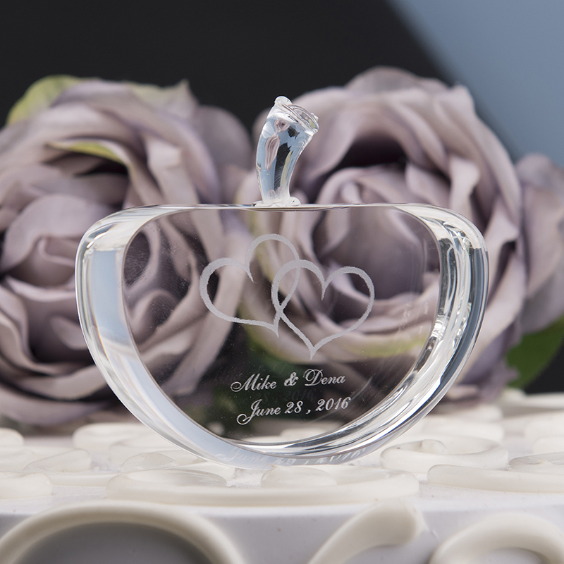 Personalized Glass Crystal Item (Sold in a single piece)