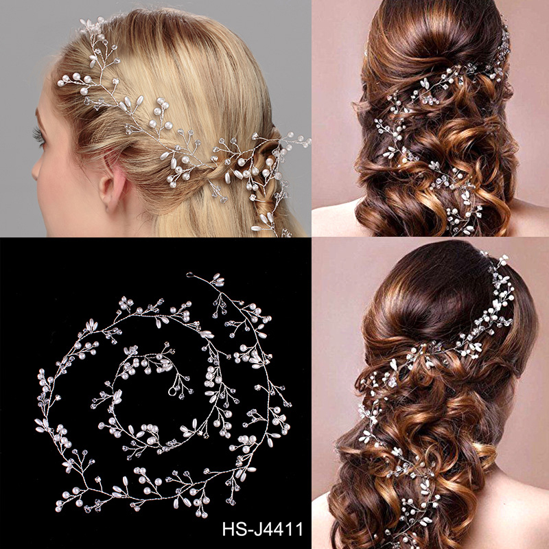 Fashion Alloy Headbands (Sold in single piece)