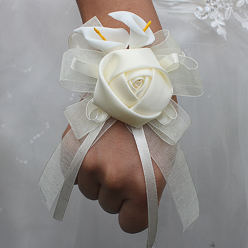 Satin Armbandblume (Sold in a single piece) -