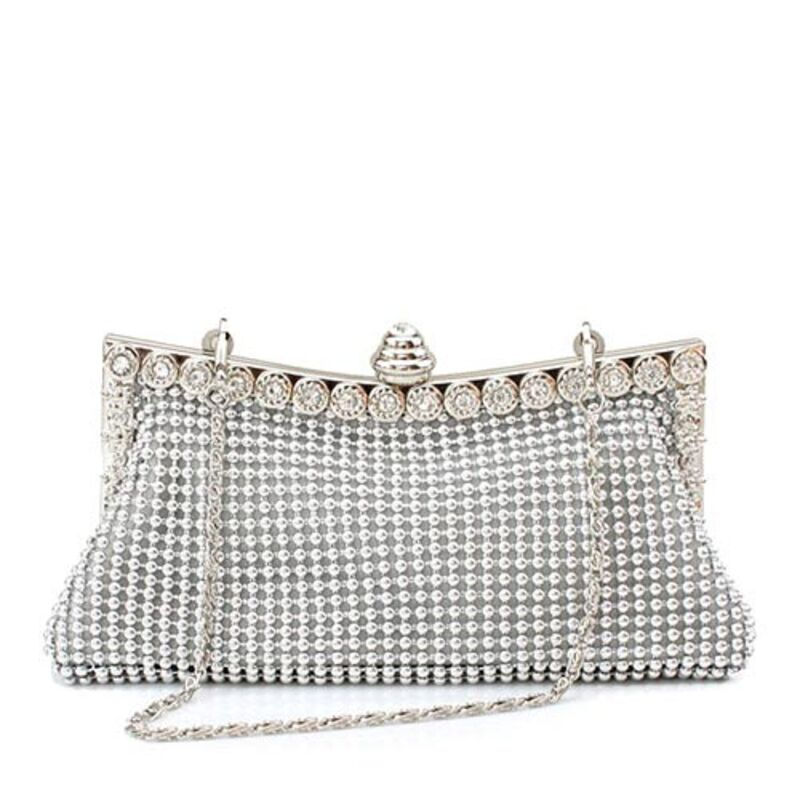 Gorgeous Satin With Crystal/ Rhinestone/Beading Clutches/Bridal Purse/Evening Bags