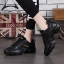 Men's Leatherette Fabric Sneakers Sneakers With Lace-up Dance Shoes