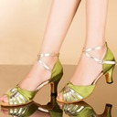 Women's Sandals Latin With Ankle Strap Dance Shoes