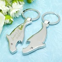 Personalized Stainless Steel Keychains/Bottle Opener