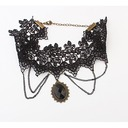 Vintage Alloy Lace Women's Necklaces
