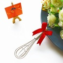 """""""Tea Time"""" Heart Shaped Metal Stirrers (Sold in a single)"""