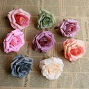 Flower Design Beautiful Silk Artificial Flowers (set of 50)
