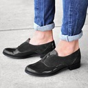 Women's Leatherette PU Chunky Heel Pumps Closed Toe With Hollow-out Others shoes