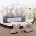 """Hugs & Kisses From Mr. & Mrs."" Ceramic Salt & Pepper Shakers (Set of 2 pieces)"