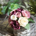 Elegant Floral Silk Flower Artificial Flowers