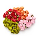 Sweet Rose Paper Artificial Flowers (set of 24)
