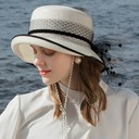Ladies' Glamourous/Classic/Elegant/Simple/Nice Pp With Tulle Beach/Sun Hats