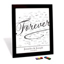 """Personalized """"Forever"""" Canvas Signature Platter"""