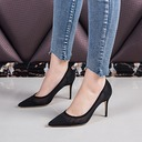 Women's Mesh Stiletto Heel Pumps Closed Toe shoes