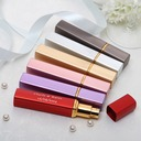 Personalized Simple Design Zinc Alloy Perfume Bottle (Set of 4 Mixed Color)