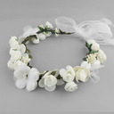 Lovely Silk Flower Headbands (Sold in single piece)