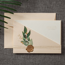 Personalized Top Fold Invitation Cards (Set of 50)