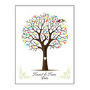 Personalized Fingerprint Guestbook With Ink Pad