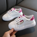 Unisex Round Toe Closed Toe Leatherette Flat Heel Flats Sneakers & Athletic With Lace-up