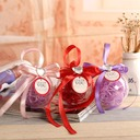 Ball Favor Tin With Ribbons (Set of 12)