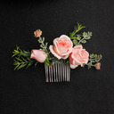 Ladies Foam Combs & Barrettes (Sold in single piece)