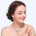 Bride Gifts - Beautiful Alloy Rhinestones Jewelry Set