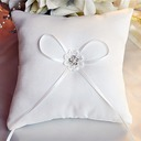 Beautiful Ring Pillow in Satin With Ribbons