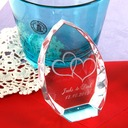 Personalized artificial crystal (Sold in a single piece)