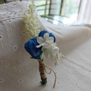 Satin/Silk Boutonniere (Sold in a single piece) -