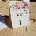 Simple/Classic Beautiful Paper Place Cards (set of 10)