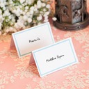 Personalized Card Paper Table Number Cards (Set of 12)