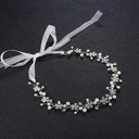 Ladies Elegant Alloy Headbands With Venetian Pearl/Crystal
