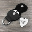 Groom Gifts - Personalized Modern Stainless Steel Guitar Pick