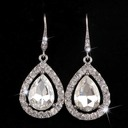 Classic Alloy Rhinestones With Rhinestone Ladies' Fashion Earrings