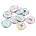 Personalized Resin Poker Chip (Set of 50)